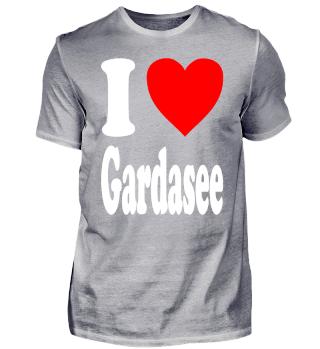 I love Gardasee