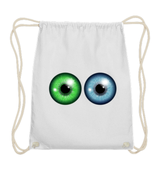Two Eyes - Green and Blue eye