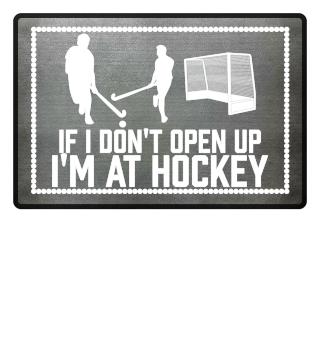 ...i'm at hockey