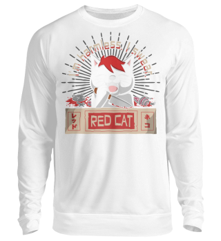 Red Cat Harmless Sweatshirt