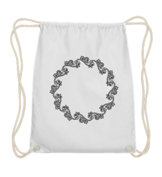 Vintage Rahmen für deine Ideen - schwarz