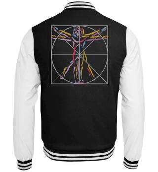 da Vinci |vitruvianischer Mensch | Jacken