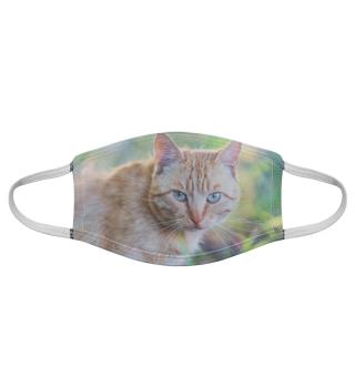 Gesichtsmaske mit Katzenmotiv 20.44
