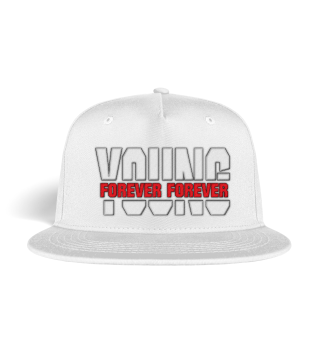 Snapback bestickt Forever Young