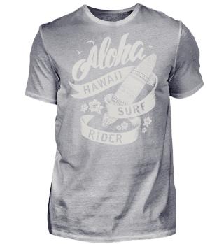 Herren Kurzarm T-Shirt Surf Rider