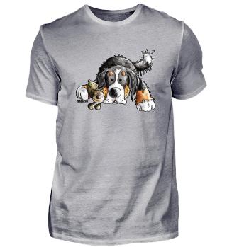 Berner Sennenhund mit Teddy I Geschenk