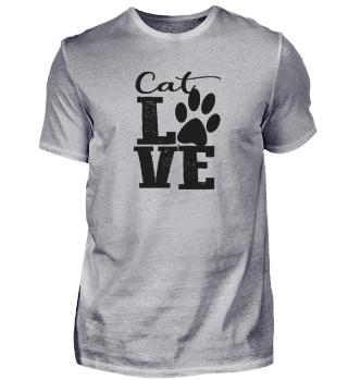 Cat Love - black Font