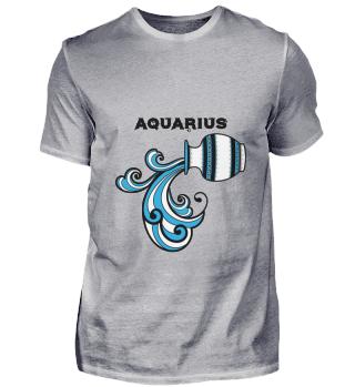D007-0109A Zodiac Signs - Aquarius