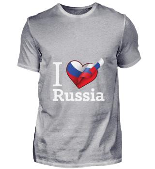 D001-0090A I Love Russia / Russland