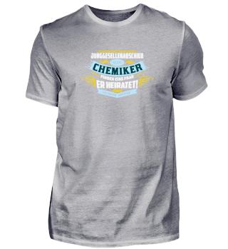 Junggesellenabschied eines Chemiker