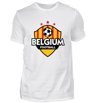 Football Emblem Of Belgium