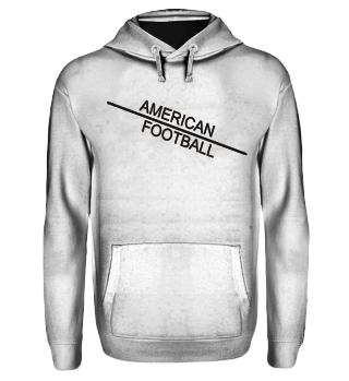 American Football line - black
