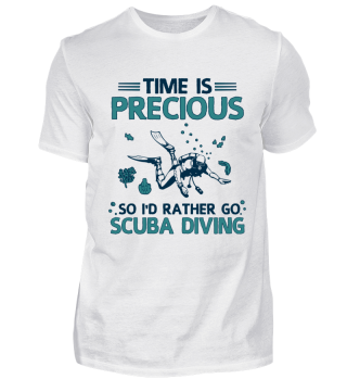 Scuba Diver Diving Instructor Apnoe Cool Funny Nerdy Quote Gift