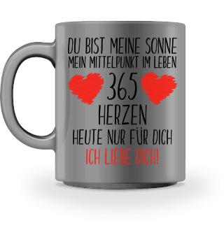 Valentinstag Tasse - Geschenk Liebe