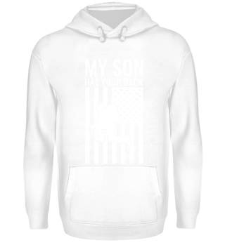 Soldier Parents T-Shirt Gift My Son USA