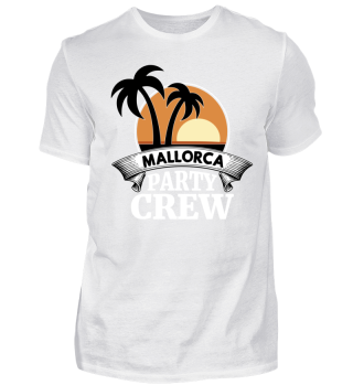 Mallorca Party Crew Shirt