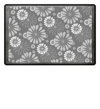 Abstraktes Blumen Muster I