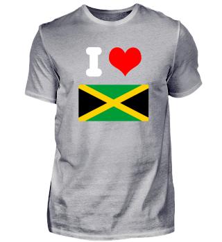 I love Jamaika Design Motiv Geschenkidee