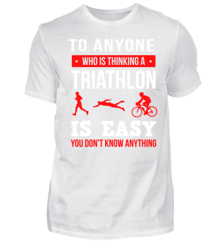 Triathlon is not easy