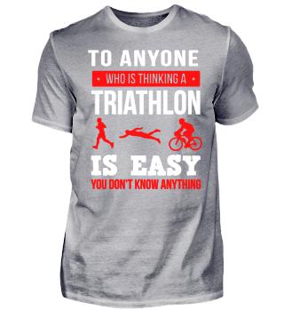 Triathlon is not easy