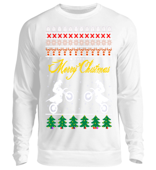 Ugly Christmas Sweater Motocross