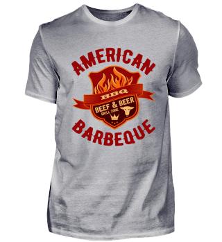 GRILL SHIRT · AMERICAN BBQ #1.4