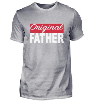 Original Father Logo Vatertag liebe dich