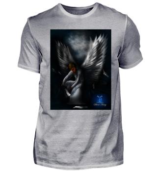 Gefallener Engel Silent Army mit Logo
