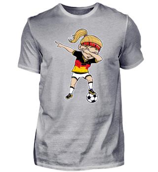 Lustig Deutschland Fußball National Dab