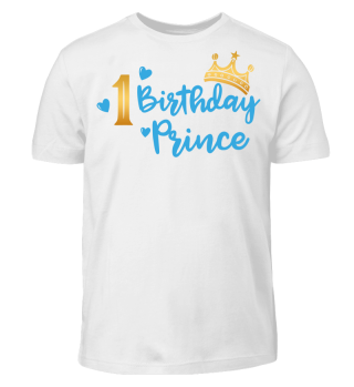 First Baby Birthday Prince