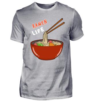 Funny Ramen Life Noodles Soup T-Shirt