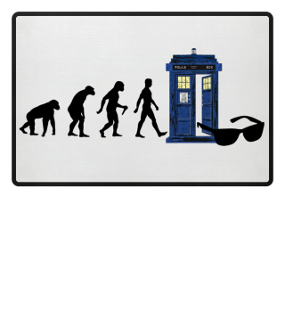 Evolution Of Humans - Police Box VIII