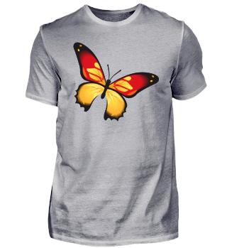 Schmetterling Frühling T-Shirt