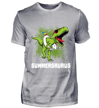 Summersaurus Dinosaurus Unicorn Geschenk