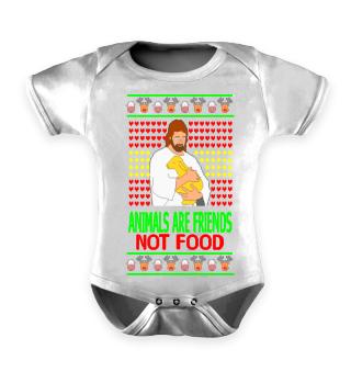 Vegan Jesus Ugly Sweater