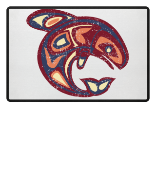 ★ Native American Totem Orca Whale 5