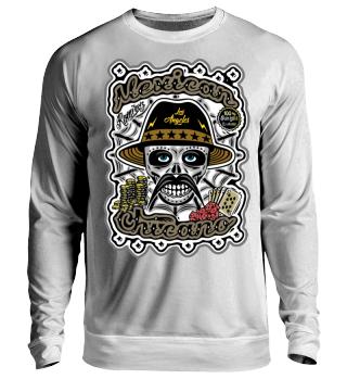 Herren Langarm Shirt Mexican Chicano Ramirez