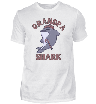 Grandpa Shark grandpa grandfather Hai Ma