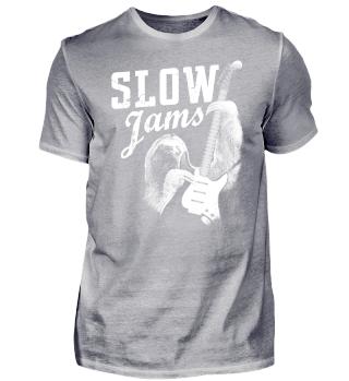 Slow Jams Faultier Gitarre