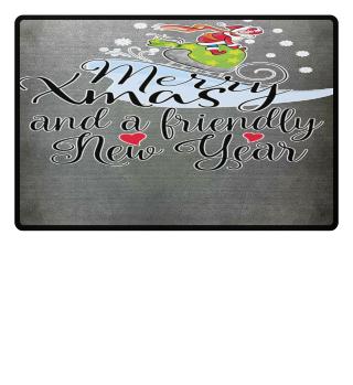 ★ Merry Christmas Santa Snow Carriage