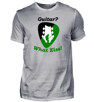 Das Shirt für Gitarristen in englisch