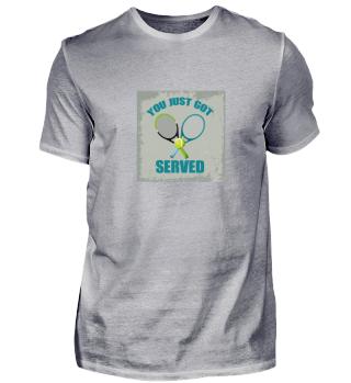 Sportliches Design für Tennisspieler