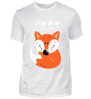 Wild One Fox I Cartoon Foxes Baby Kids