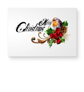 ☛ MERRY CHRISTMAS · BIRD #1CF