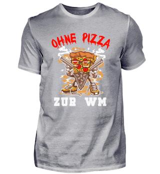 Ohne Pizza zur WM
