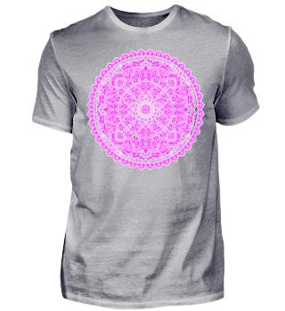 ♥ Art Deco Heart Mandala - outline 4