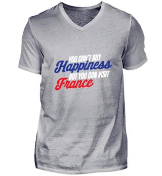 Frankreich France Urlaub T-Shirt