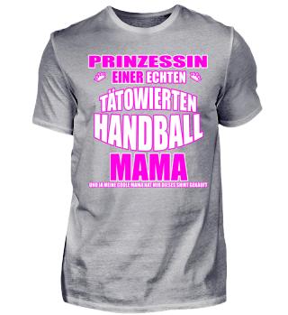 Prinzessin einer Handballmama