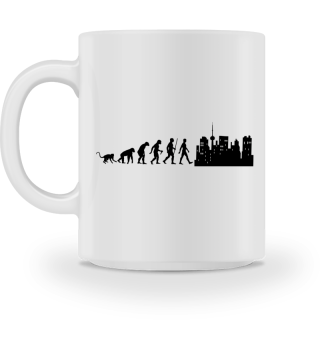 Evolution Of Humans - Skyline I