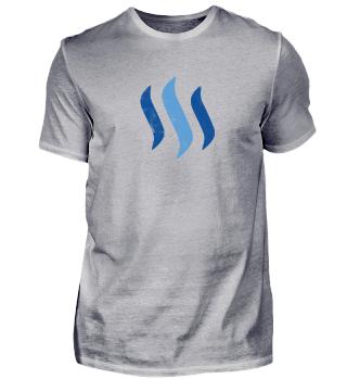 Steem T-Shirt - Logo Used Look